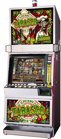 Transparent picture of Tabasco slot machine