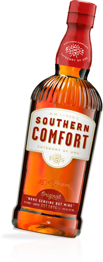 Southern Comfort solo bottle